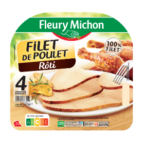 Fleury Michon_Filet de poulet FLEURY MICHON