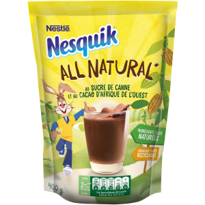 Bon et coupon de réduction All Natural 400G Nesquik