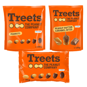 All offre Treets The Peanut Company Treets