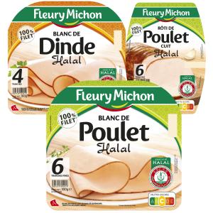 Bon et coupon de réduction Fleury Michon Halal FLEURY MICHON