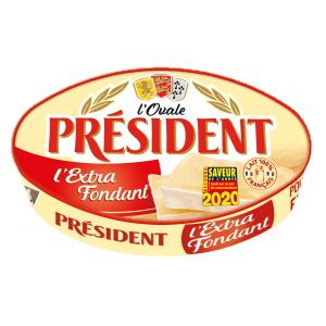 Ovale Président L'Extra Fondant 200G Président Doré