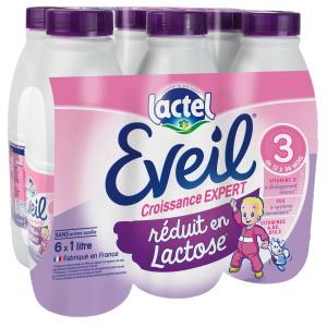 EVEIL Croissance Réduit en Lactose 6x1L EVEIL Croissance