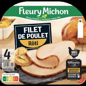Bon et coupon de réduction Fleury Michon_Filet de poulet FLEURY MICHON