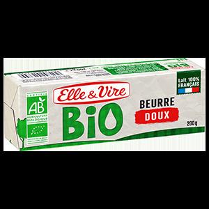 BEURRE DOUX BIO PLAQUETTE 200G