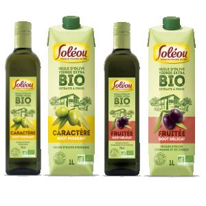 Bon et coupon de réduction Huile d'olive Soléou SOLEOU