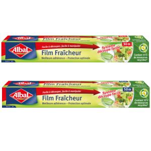 Bon et coupon de réduction Film Fraîcheur Albal@ Albal