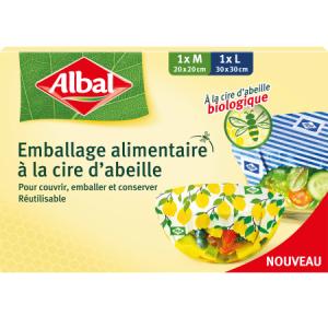 Bon et coupon de réduction Emballage alimentaire à la cire d'abeille Albal@ Albal