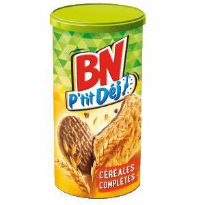 Bon et coupon de réduction BN P'tit Déj Céréales complètes BN